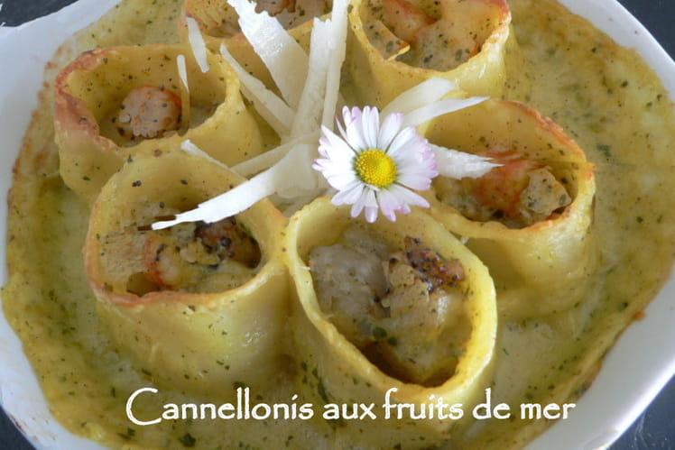 Cannellonis aux fruits de mer