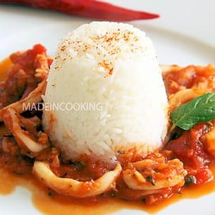 encornets à la sauce tomate provençale