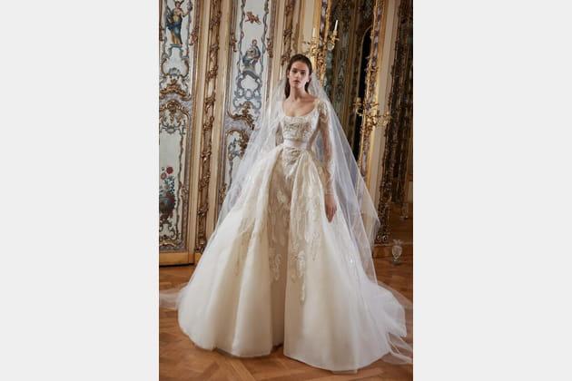 Une robe de mariée impériale