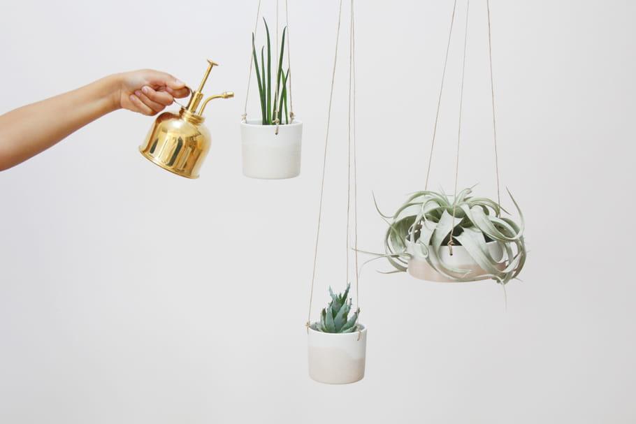 L'objet du désir : les cache-pots suspendus de Caroline Gomez
