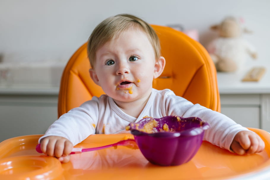Alimentation du bébé à 10mois