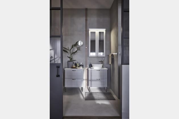 Meuble à miroir Godmorgon d'IKEA