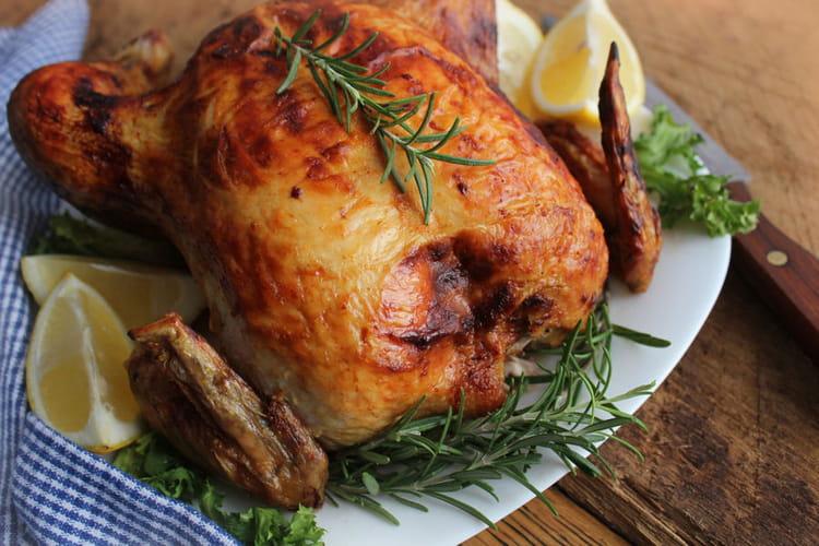 Poulet r ti la meilleure recette - Cuisiner un poulet roti ...