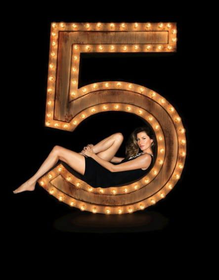 La campagne Chanel N°5de 2004