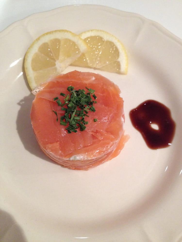 Recette de cercle de saumon la recette facile for Entree legere facile