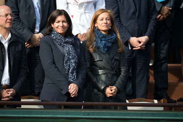 Anne Hidalgo et Anne Gravoin