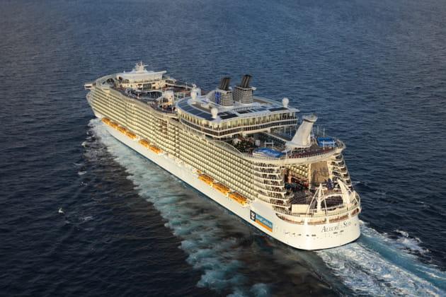 En croisière sur le plus grand bateau du monde
