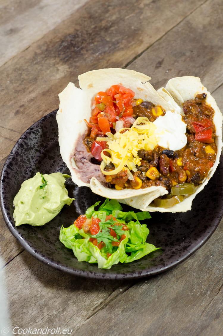 Recette chili con carne pour 6 personnes - Cuisiner haricot rouge ...