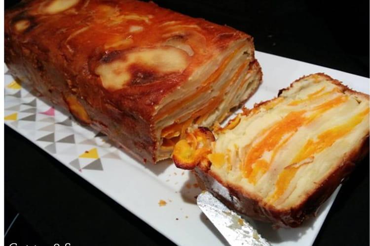 Gâteau invisible aux carottes et pommes de terre