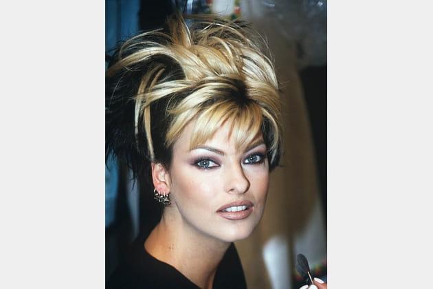 Linda Evangelista le 19octobre 1995