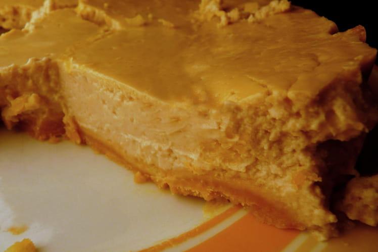 Cheesecake fondant aux marrons