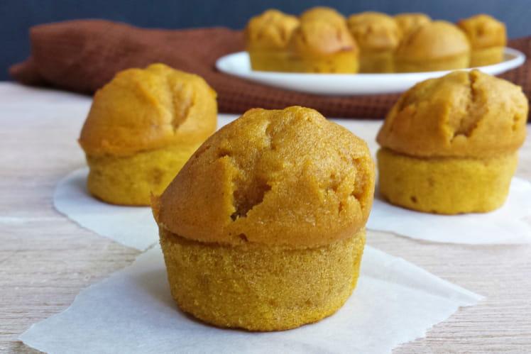 Mini muffins au potiron et à l'orange