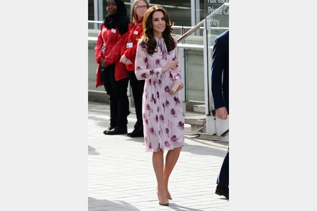 Kate Middleton le 10octobre 2016