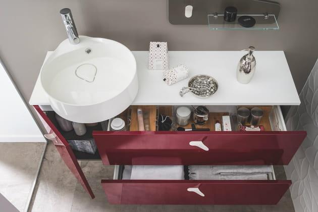 Des tiroirs XXL aménagés