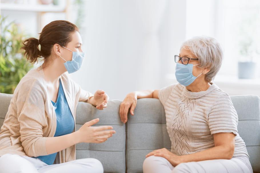 Coronavirus et personnes âgées: âge à risque, visites en Ehpad