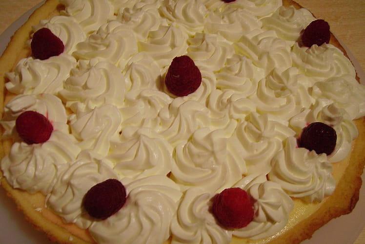Lemon chiffon pie (tarte au citron)