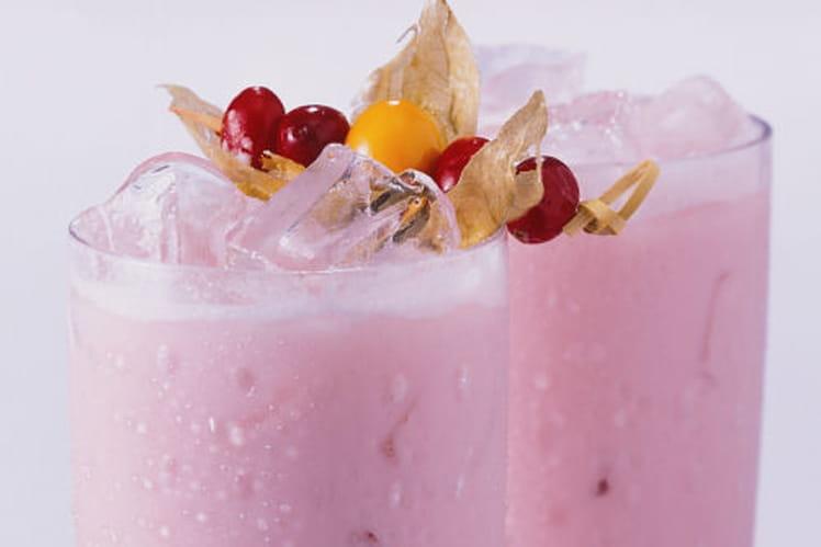 Cranberry Milk