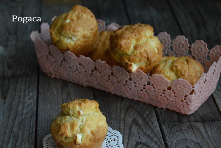 Muffins à la feta serbes Pogaca