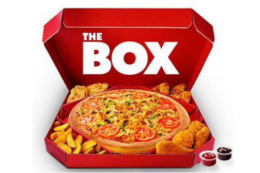 J'ai testé The Box de Pizza Hut