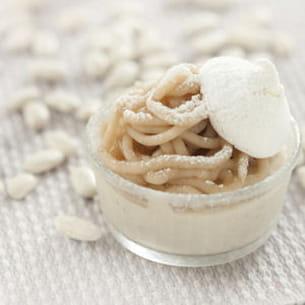 monts blancs très enneigé de haricots tarbais