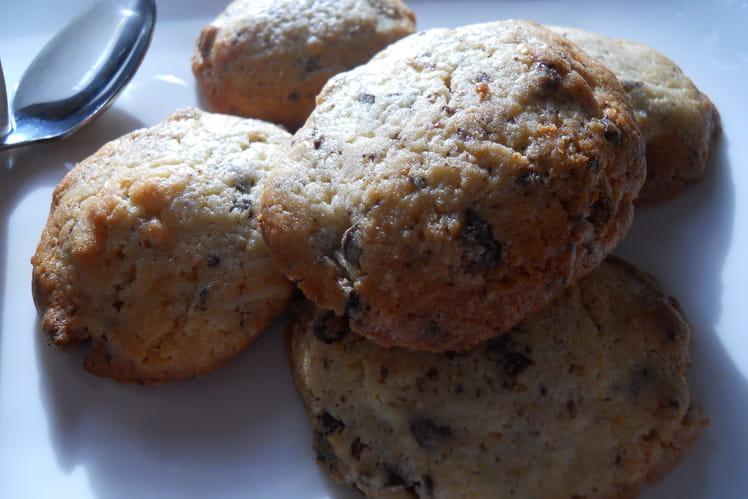 Cookies à la vanille et aux deux chocolats