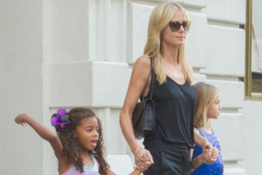 À 11 ans, la fille d'Heidi Klum porte des talons
