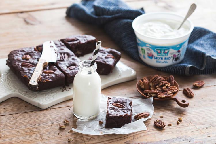 Brownie'skyr au chocolat noir