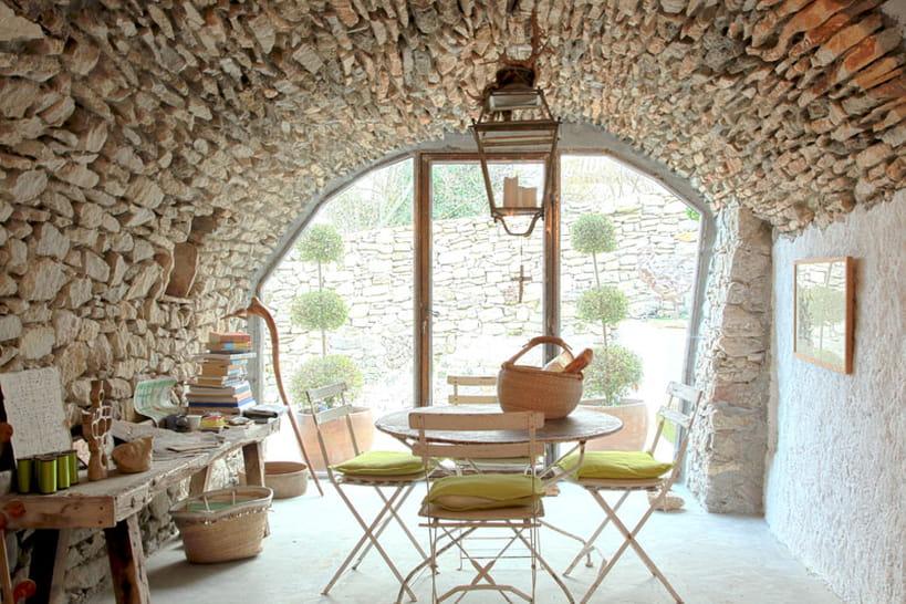 Le charme des décos en pierres apparentes