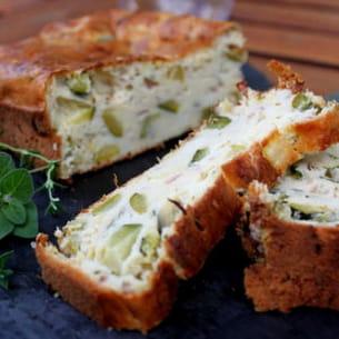 Recette Cuisine Cake Aux Legumes Thym Et Feta