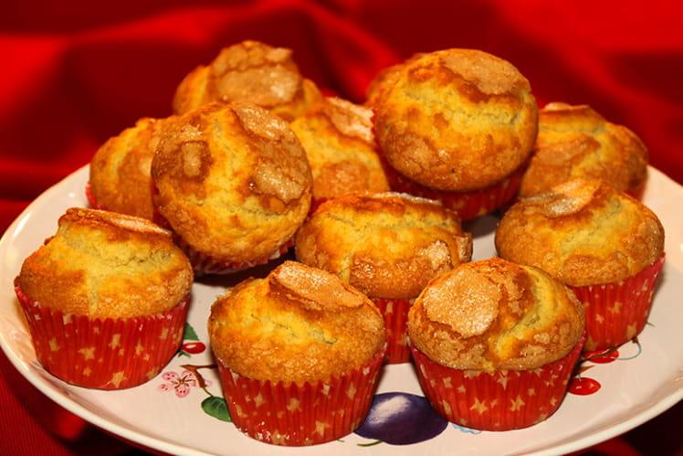 Petites madeleines espagnoles ou magdalenas
