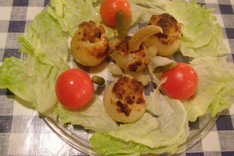 Oignons farcis (basses calories)