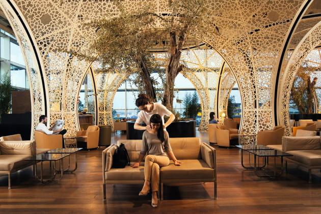 Lounge Istanbul: des masseurs ambulants