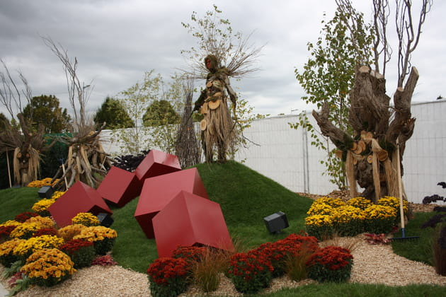 Jardin artistique