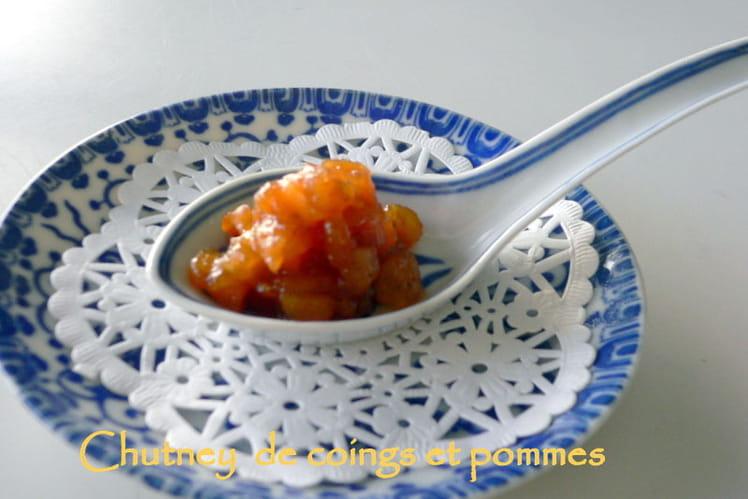 Chutney de coings, pommes au gingembre