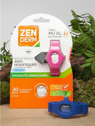 bracelets anti-moustiques zenderm.
