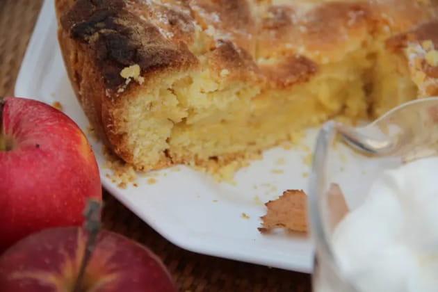 Tourte aux pommes d'Alain Ducasse