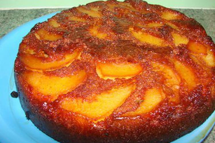 Gâteau au caramel