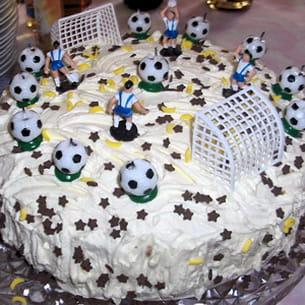 gâteau 'foot'