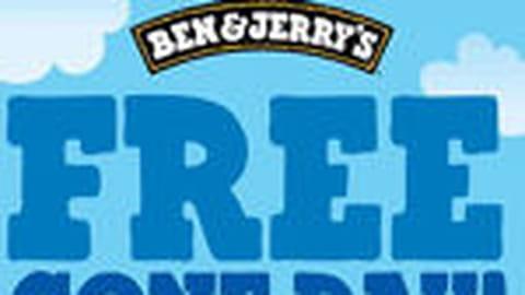 Glace à volonté chez Ben & Jerry's