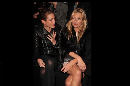 Kate Moss et Charlotte Casiraghi
