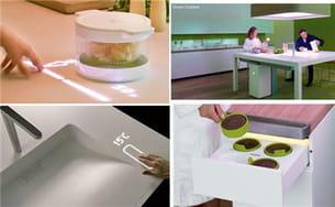 la table communique et interagit avec les autres objets pour dévoiler tous ses