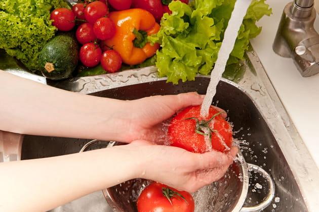 Ne pas nettoyer ses légumes bio