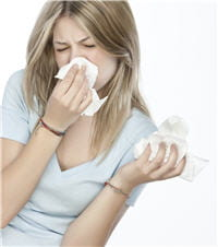 nez qui coule, yeux qui grattent... c'est sans doute une allergie aux pollens.