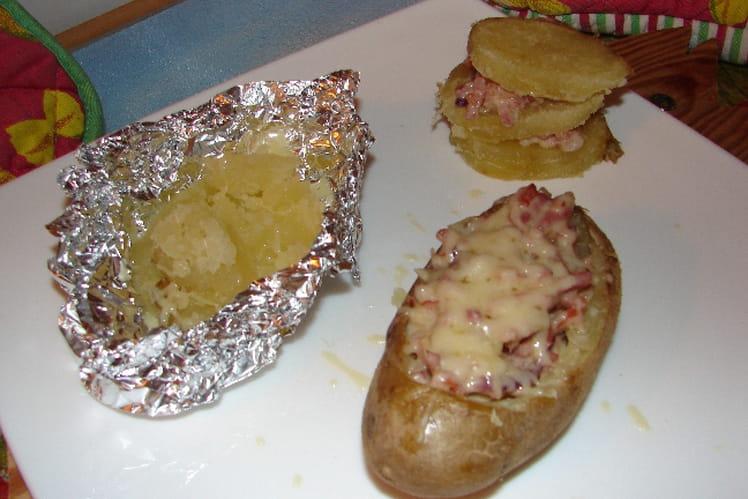 Pommes de terre farcies à la paysanne