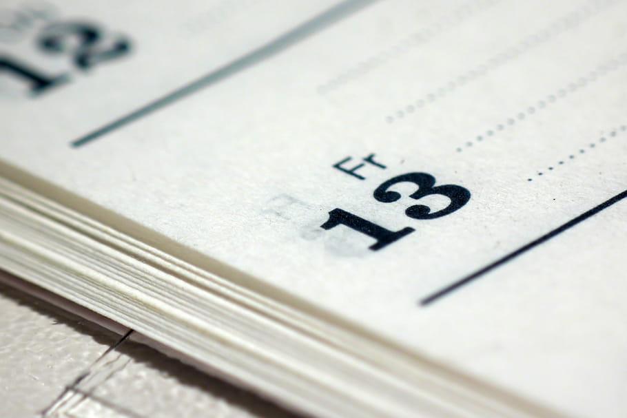 Vendredi 13: jour de malchance vraiment? (origines, croyances et superstitions)