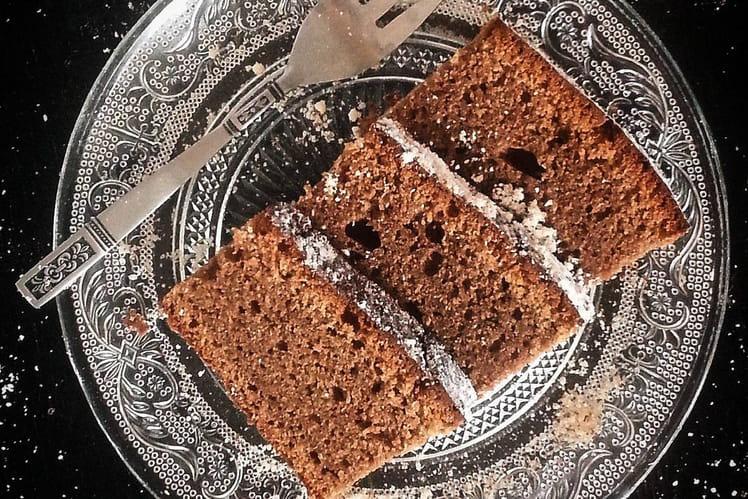 Gâteau chocolat au lait et noisettes