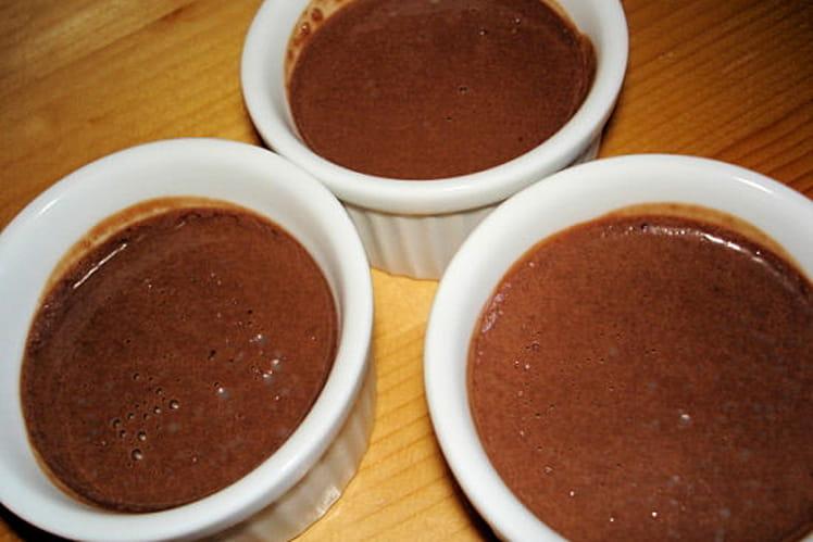 Mini crèmes au chocolat