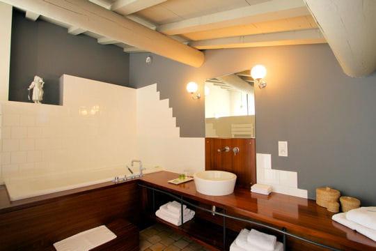 Salle de bains au grenier