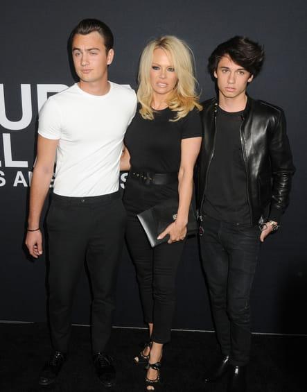 Brandon Lee, Pamela Anderson et Dylan Lee