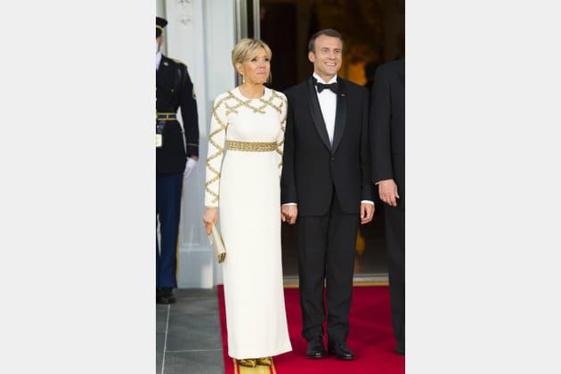Brigitte Macron le 25avril 2018